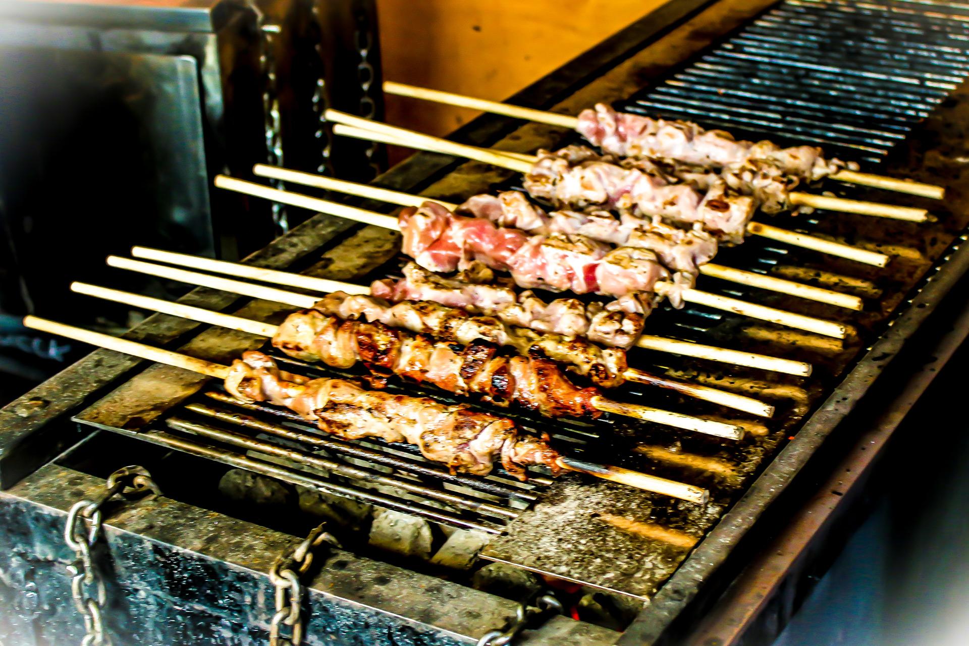 Fleischspieße – Schlossbeck