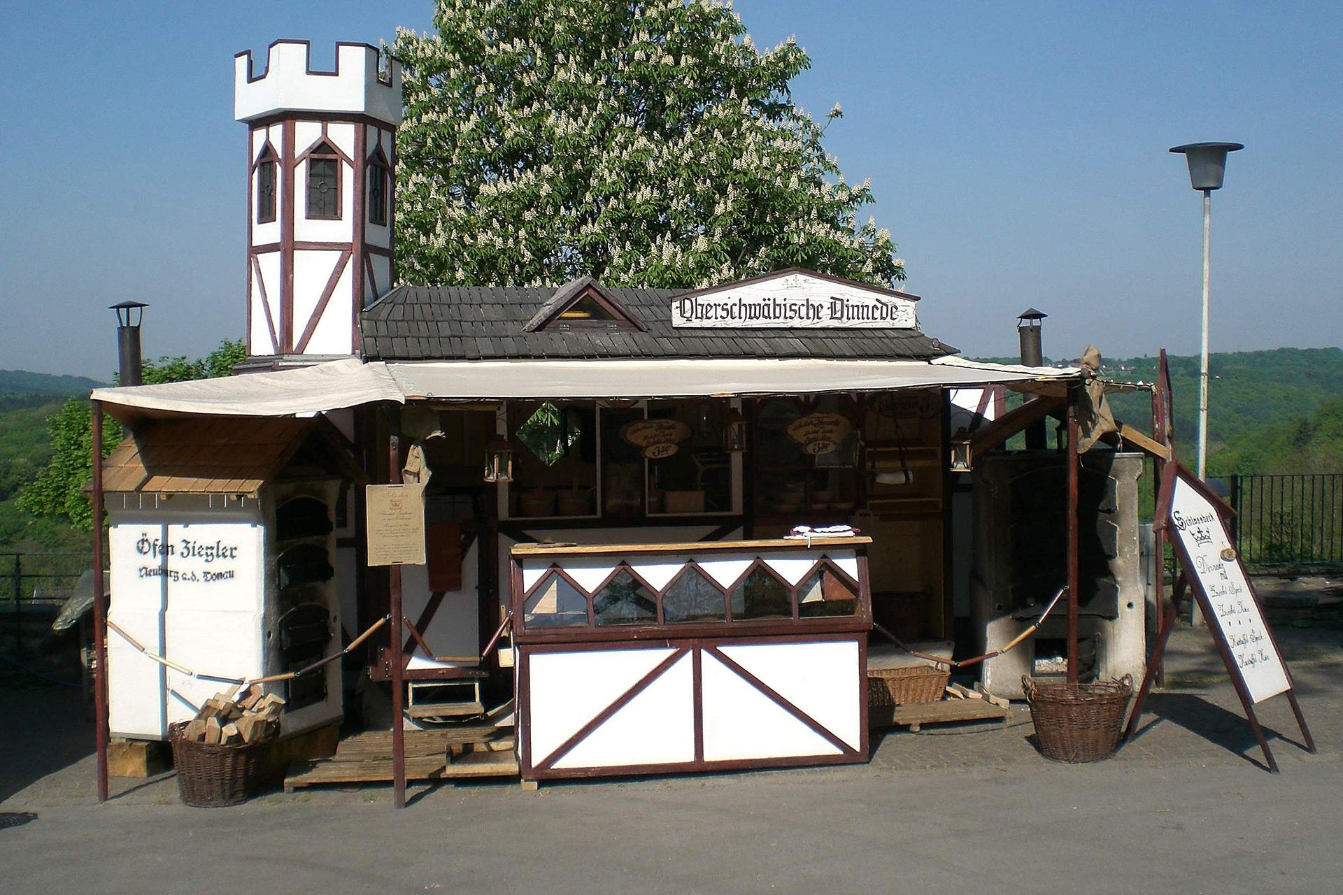 Mittelalterlicher Marktstand