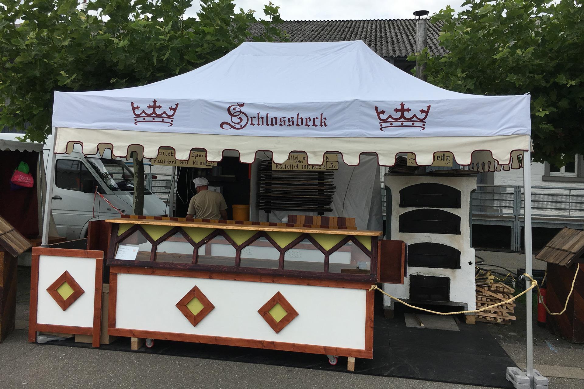 Mobiles Zelt – Schlossbeck